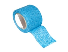 Image displaying a singular blue roll of Finger Safety Tape.