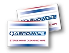 Sterile Saline Wipes in Packet