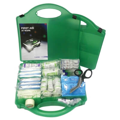 Image of an open Premium Large First Aid Kit to show the kit's contents.